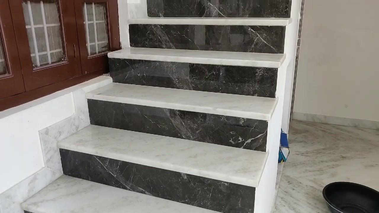 Marble Slab On Stairs