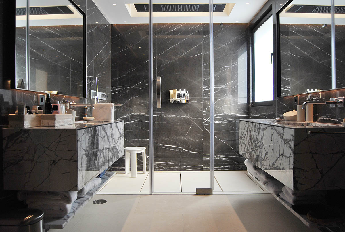 Picasso Gray Marble Slab